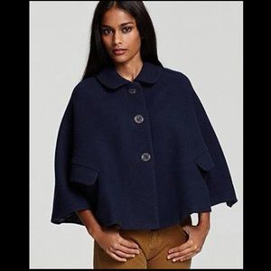 Juicy Couture Navy Blue Poncho Capelet